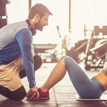 10 lekcí s fitness trenérem a stravovací plán