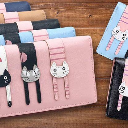 Veselé kočičkové peněženky
