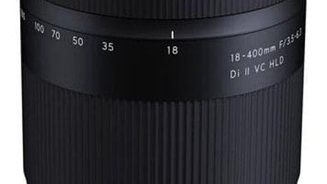 Objektiv Tamron AF 18-400 mm F/3.5-6.3 Di II VC HLD pro Nikon černý (B028N)