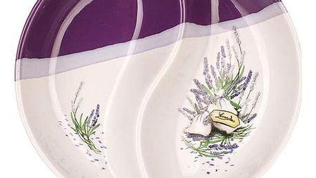 Banquet LAVENDER servírovací mísa kulatá 20,5 cm