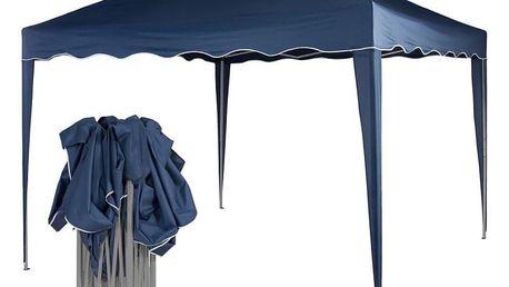 Tuin 36843 Zahradní párty stan nůžkový 3x3 m - modrý