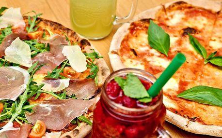 Pizza od skutečného profíka a domácí limonáda
