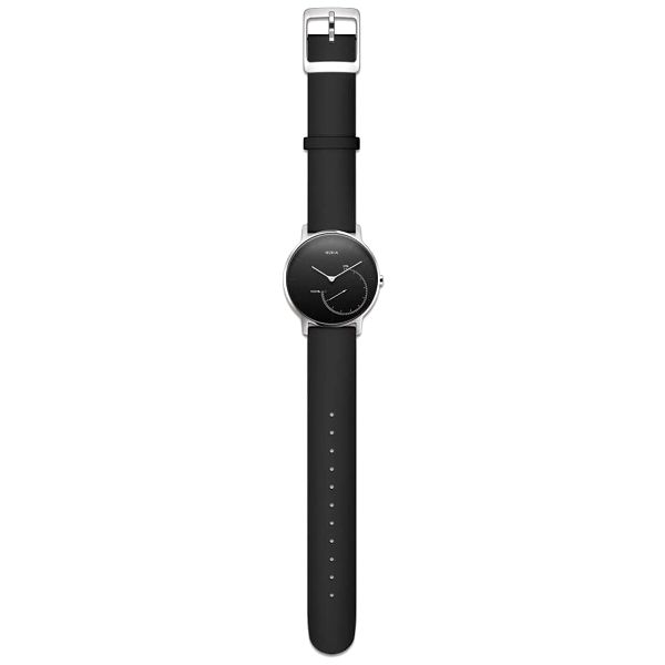 Chytré hodinky Nokia Activité Steel (HWA01-Black-All-Inter) černé2