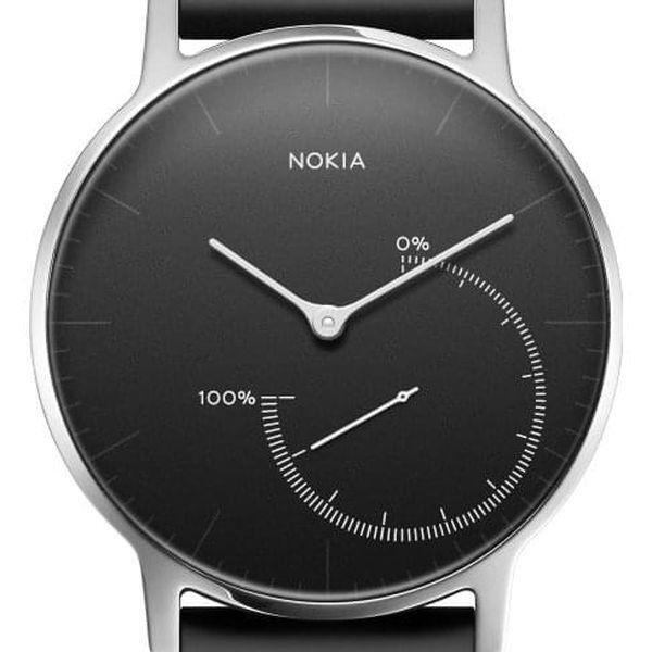 Chytré hodinky Nokia Activité Steel (HWA01-Black-All-Inter) černé3