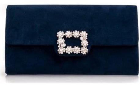 Dámské námořnicky modré psaníčko Fiola 2563
