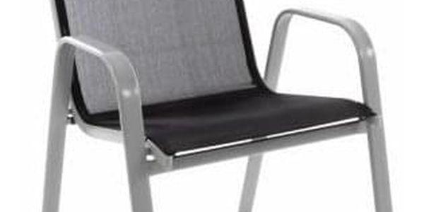 Garthen 28570 Zahradní židle stohovatelná s vysokým opěradlem