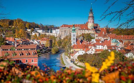 Podzimní Český Krumlov: ubytování v penzionu