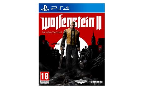 Bethesda PlayStation 4 Wolfenstein II The New Colossus (5055856416784)