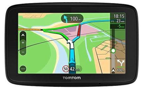 Navigační systém GPS Tomtom VIA 53 Europe LIFETIME mapy černá (1AL5.002.00)