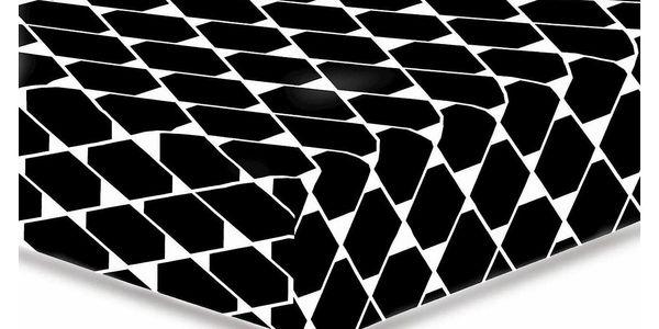 DecoKing Prostěradlo Rhombuses S2, 90 x 200 cm
