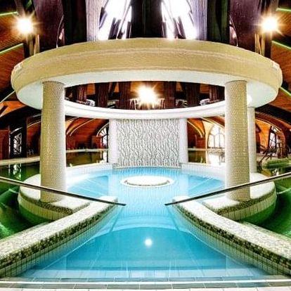 Zalakaros: Hotel Park Inn by Radisson **** s polopenzí a lázněmi neomezeně