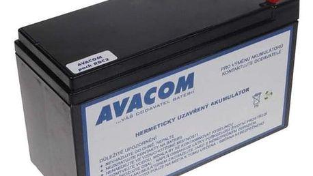 Akumulátor Avacom RBC2 - náhrada za APC černý (AVA-RBC2)