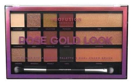 Profusion Rose Gold Look 33,6 g paletka pro kompletní make-up pro ženy