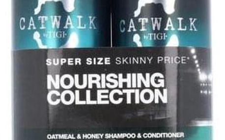 Tigi Catwalk Oatmeal & Honey dárková kazeta pro ženy šampon 750 ml + kondicionér 750 ml