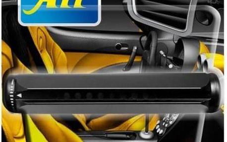 Osvěžovač Luxury 3v1 s kovovým tělem pro umístění do auta