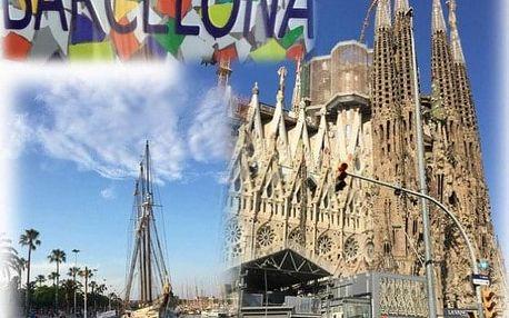 Španělsko - Barcelona letecky na 4 dny, strava dle programu