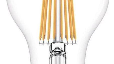 Žárovka LED Philips klasik, 11W, E27, teplá bílá (8718696742396)