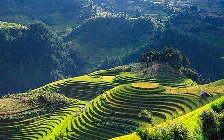 Vietnam letecky na 13 dnů, polopenze