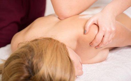 Těhotenská nebo relaxační masáž zad a šíje na Vinohradech