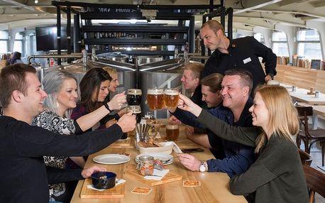 Degustace piva na Pivolodi