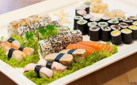 Sushi na mnoho způsobů: sety s 32, 34 i 66 kousky