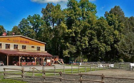 Dovolená s polopenzí na koňském ranči Bučiska