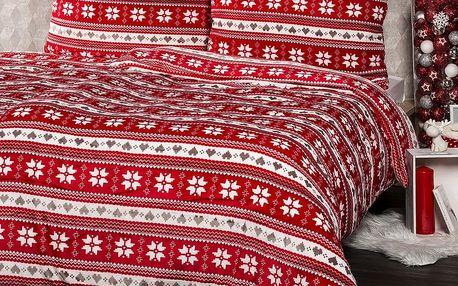 4Home povlečení mikroflanel Zimní sen, 140 x 220 cm, 70 x 90 cm, 140 x 220 cm, 70 x 90 cm