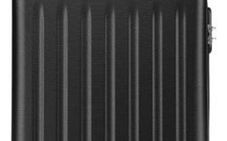 Cestovní střední černý kufr Romero 1872