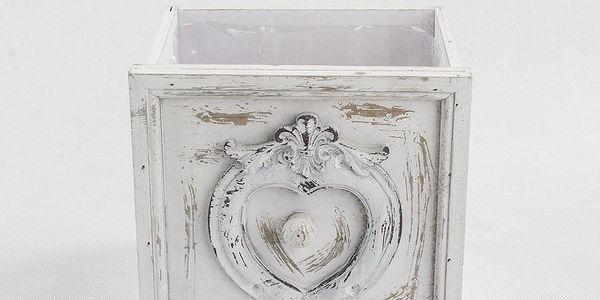 Závěsný obal na květináč Beatrice, 18 x 18 cm