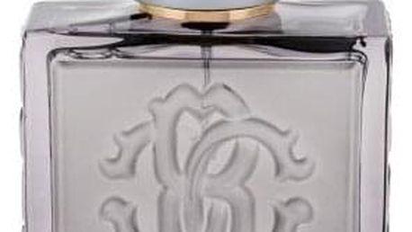 Roberto Cavalli Uomo Silver Essence 100 ml toaletní voda pro muže