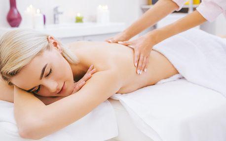 60minutová relaxační nebo sportovní masáž