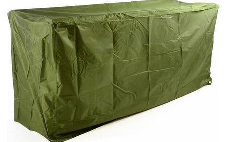 Garthen 46987 Ochranný potah na zahradní lavici 180 x 62 x 90 cm, zelený