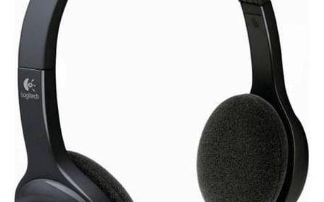 Logitech Wireless H600 černý (981-000342)