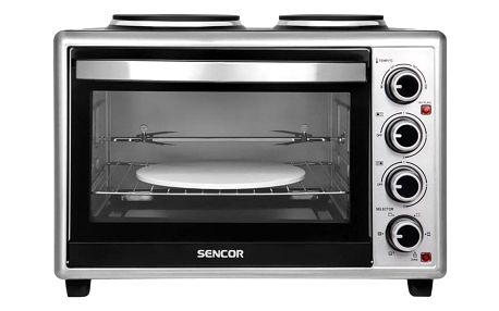 Sencor SEO 3628SS černá/stříbrná