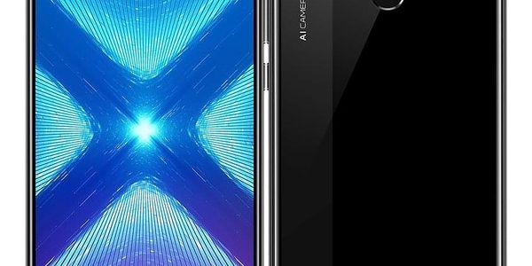 Mobilní telefon Honor 8X 64 GB Dual SIM (51093VPJ) černý SIM karta T-Mobile SIM s kreditem T-mobile Twist V síti 200 Kč kredit - hlasové volání v hodnotě 200 Kč