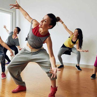 S chutí do tance a cvičení: Permanentka na 3 lekce