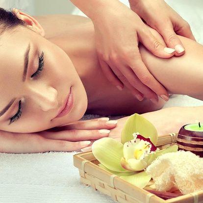 60 nebo 90min. kombinovaná masáž včetně zábalu