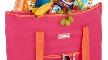 Kvalitní chladící taška COOL BAG růžová