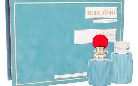 Miu Miu Miu Miu dárková kazeta pro ženy parfémovaná voda 50 ml + tělové mléko 100 ml