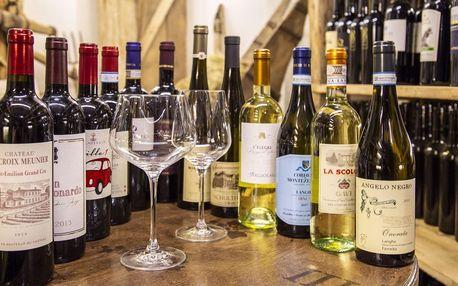 Degustace vína i základní someliérský kurz