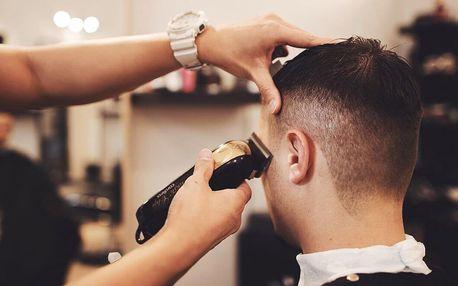 Úprava vousů a precizní pánský střih