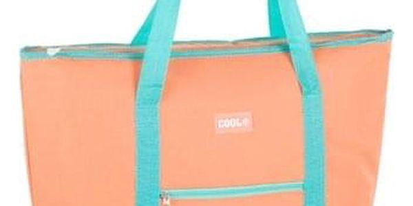Kvalitní chladící taška COOL BAG oranžová2