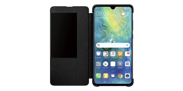 Pouzdro na mobil flipové Huawei View Cover pro Mate 20 černé (51992621)5