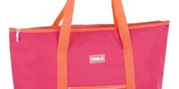 Kvalitní chladící taška COOL BAG růžová2