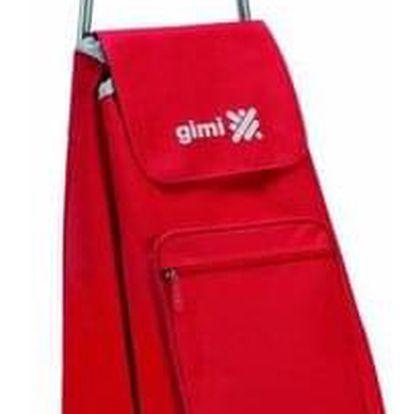 Gimi Nákupní taška na kolečkách Argo červená, 45 l