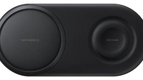 Bezdrátová nabíječka Samsung Duo Pad černá (EP-P5200TBEGWW)