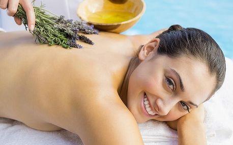 Levandulová a mojito masáž i možnost permanentky