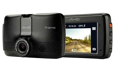 Autokamera Mio MiVue 733 WiFi černá (5415N5830001)