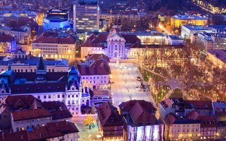Slovinsko a Chorvatsko s vánočními trhy