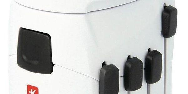 SKROSS PRO World & USB, 6,3A, (PA41) bílý (422715)